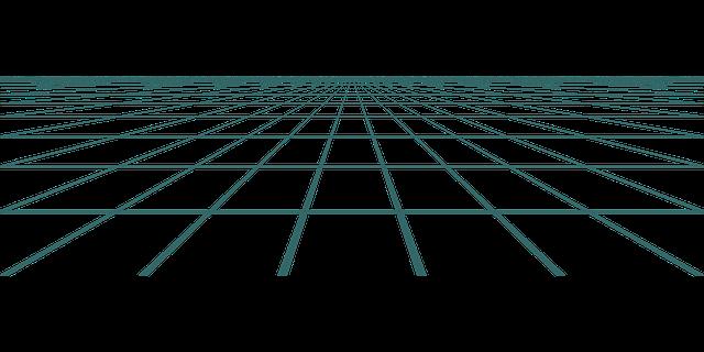 Free Vector Graphic Retro Perspective Grid Tron Free