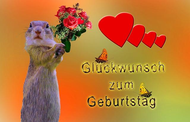 Geburtstagskarte Glückwunsch · Kostenloses Bild auf Pixabay