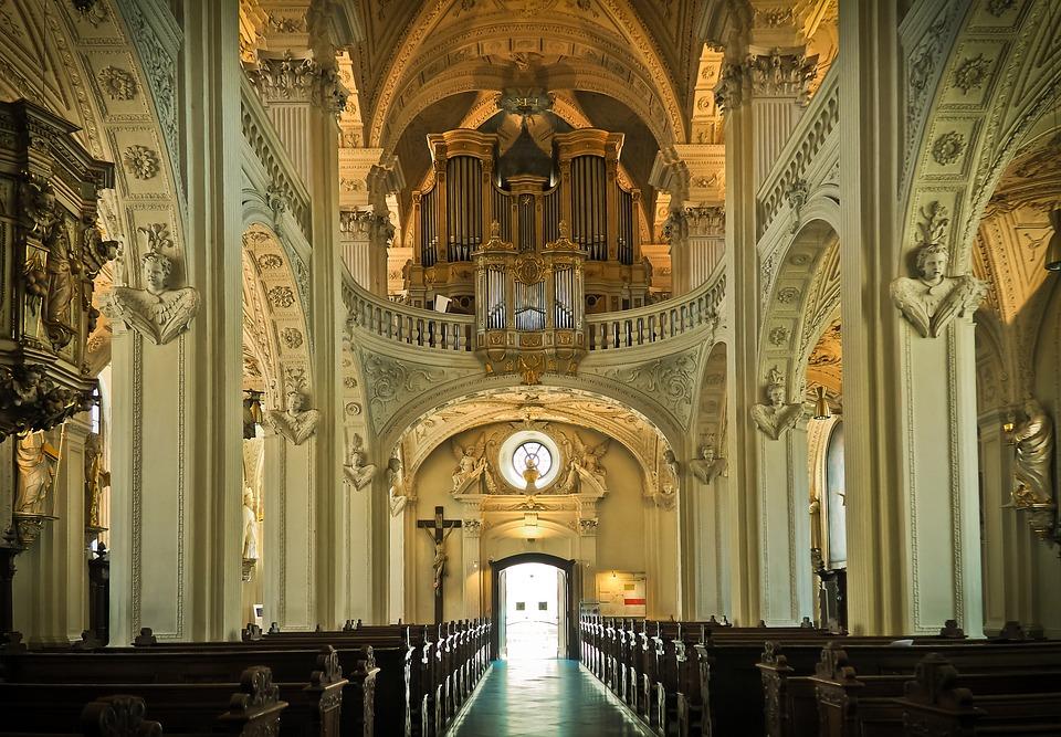 Church Architecture Vault Building Baroque