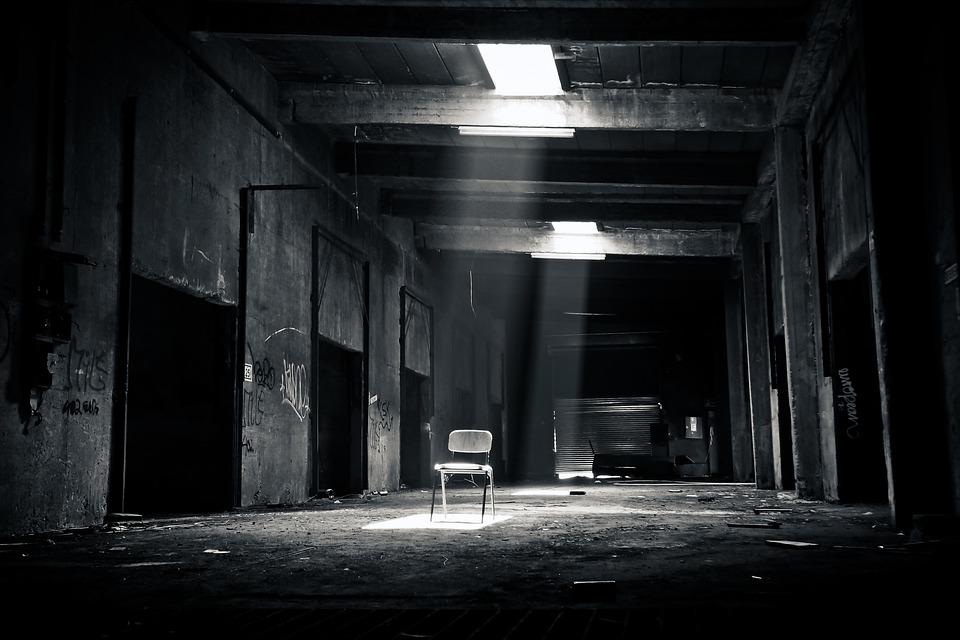 失われた場所、古い、崩壊、廃墟、工場、産業