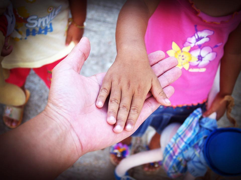 Kéz, Tart, Ellátás, Segítség, Idősek, Régi, Vezető