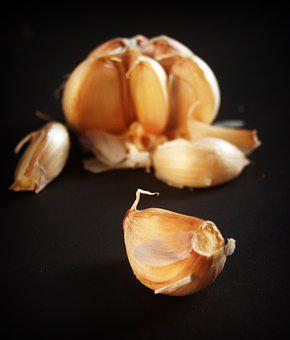 Garlic, Meals, White, Clove, Seasoning