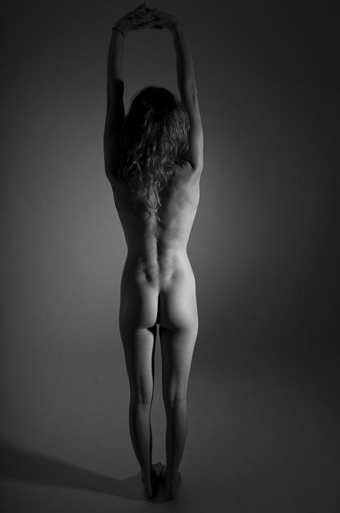 smuk kvinde nøgen modeller