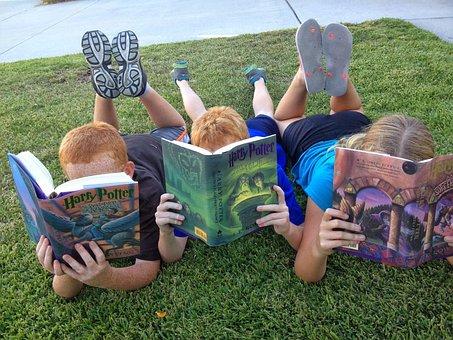 子供, 読書, 本, 子, 子供が読んで, かわいい, 児童読物, 読み取り