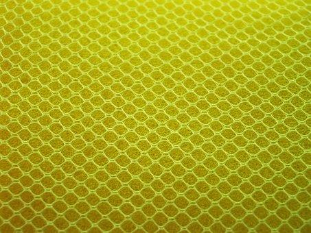 Sponge, Yellow, Close, Up, Gold, Closeup