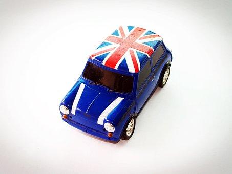 Car, Toy, Fiat, Red, Object, Sedan, Auto