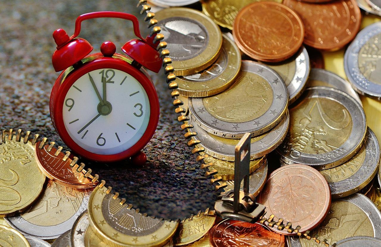 Открытка время деньги