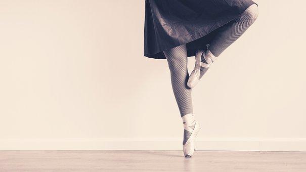 Ballet Sneaker Dress Ballet Dancer Dance P