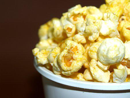 Popcorn Corn Pop Box Bucket Cinema Ba