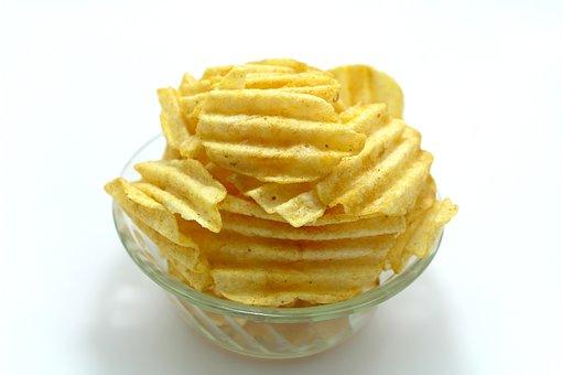 Snack, Snacking, Potatoe, Food, Bowl