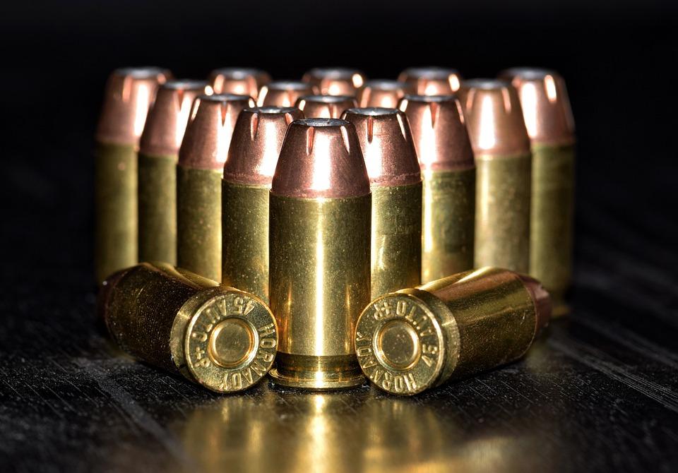 箇条書き, 弾薬, 真鍮, カートリッジ, 口径, ラウンド, Acp, Hornady, 本土防衛, 負荷