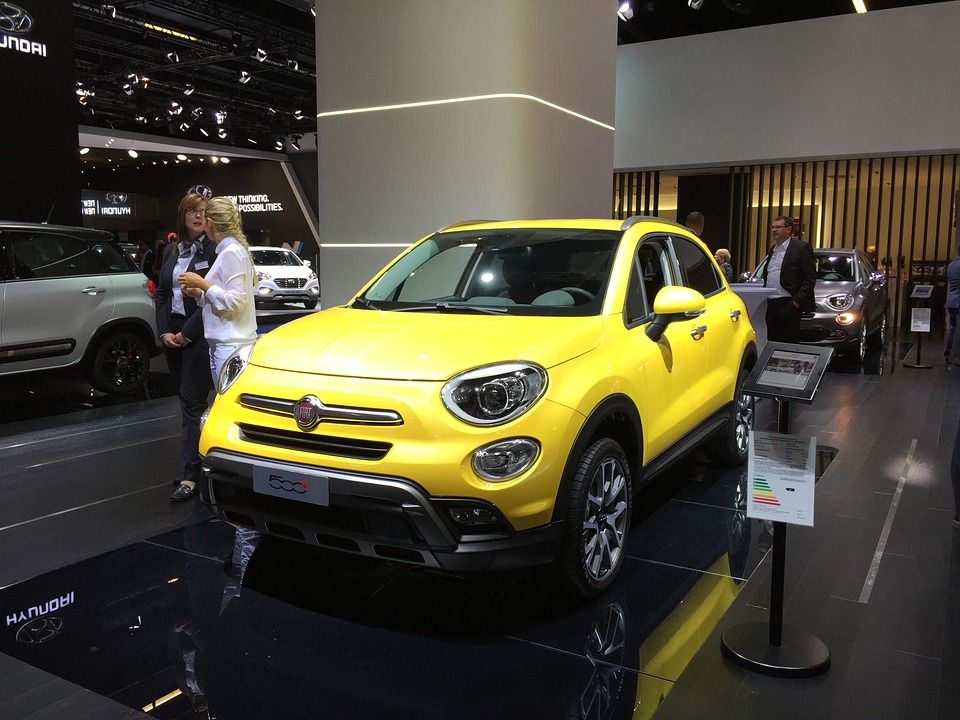 free photo: fiat, 500x, suv, crossover, jeep - free image on