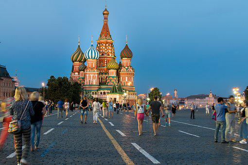 Moscow, Red Square, Russia, Tourism