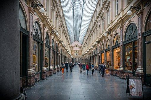 Galerías Reales de Saint Hubert Bruselas