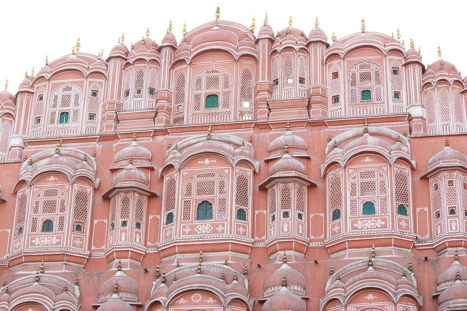 hawa mahal indian architecture free photo on pixabay