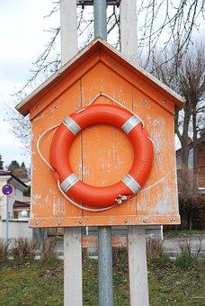 Cinturón Salvavidas, Rescate Del Agua