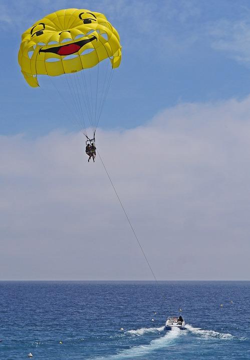 parachute ascensionnel dans le 13
