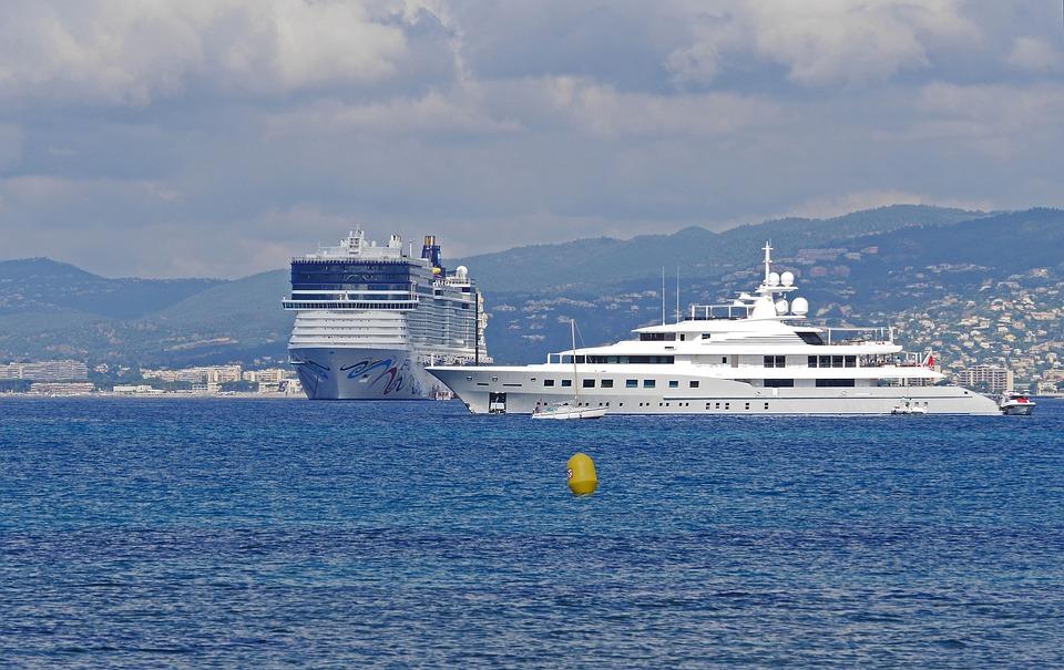 Crusaders, Bokad, Cannes, Côte D'Azurs, Medelhavet