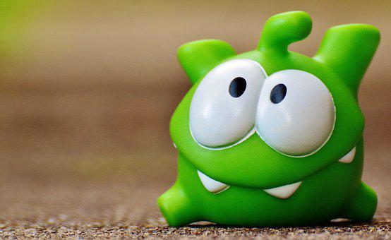 Cut The Rope, Figure, Funny, Cute