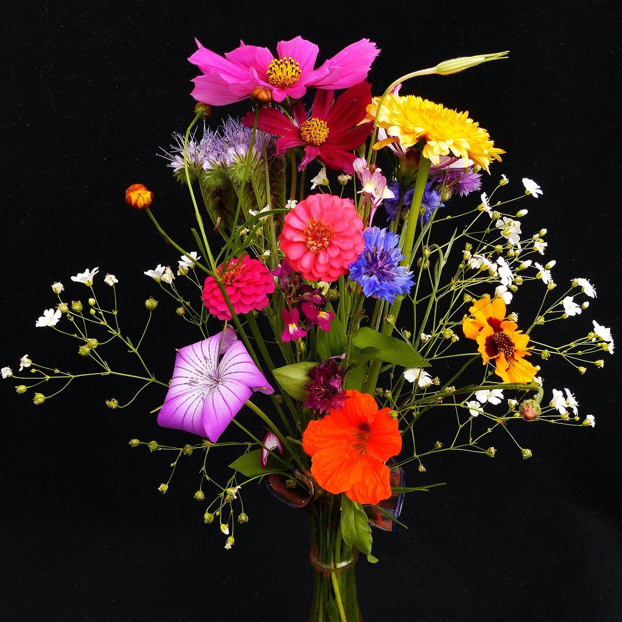 Bouquet D Anniversaire Fleurs Des Photo Gratuite Sur Pixabay