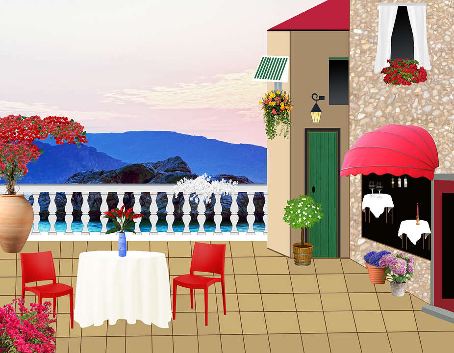 Restaurant Terrace 183 Free Image On Pixabay