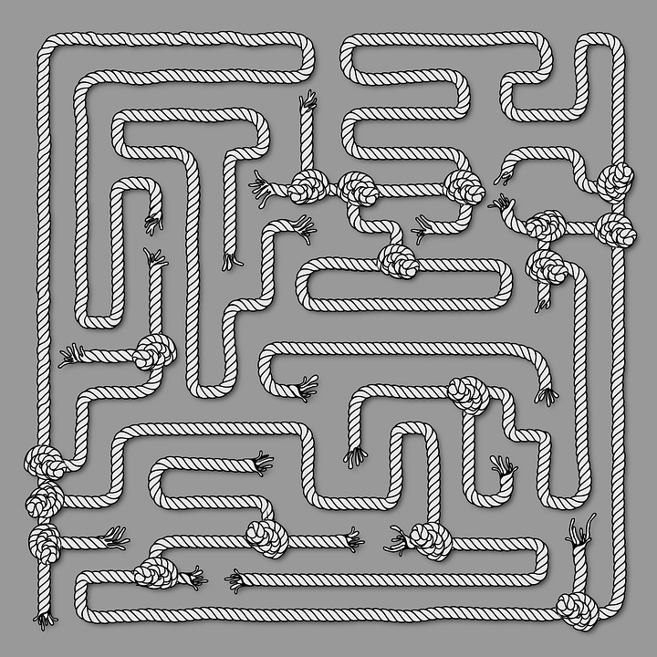 Maze Puzzle Riddle Free Vector Graphic On Pixabay