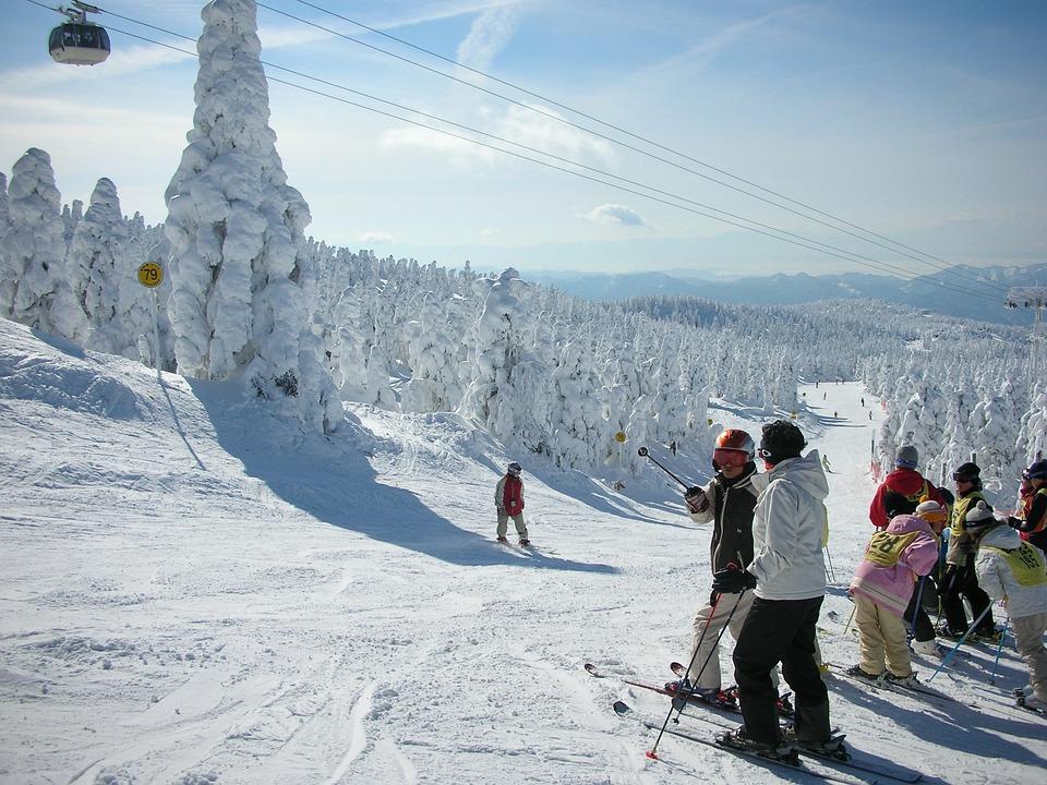 Zao Onsen, Zao Ski Resort, Japan