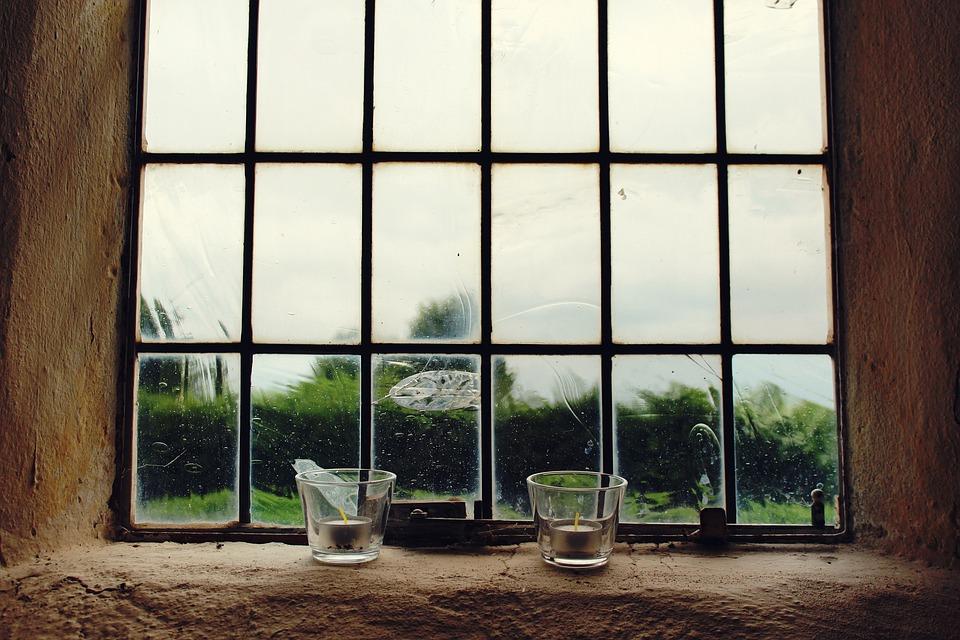 Окна, Свечи, Подсвечник, Оконное Стекло, Молитва