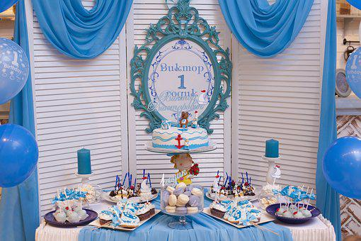 Candy Bar, Sweet Table, Cake, Topper