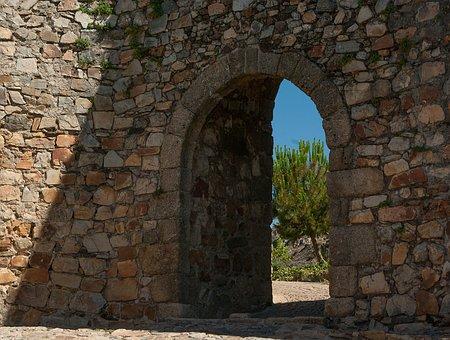 Door, Ark, Wall, Rampart, Door, Door