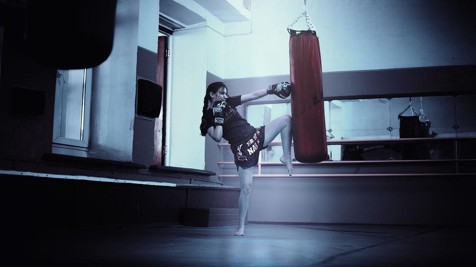 キックボクサー, 女の子, モスクワ, タイ語, キック ボクシング, 美少女, ロングヘアー, トレーナー