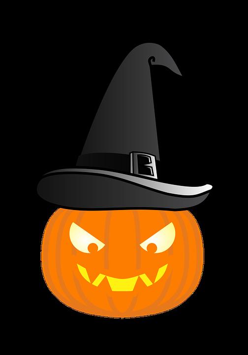 5d5446e1bf21c Calabaza Sombrero De Bruja - Gráficos vectoriales gratis en Pixabay