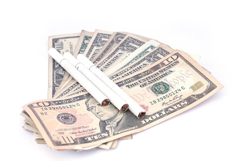 Peníze na kouření