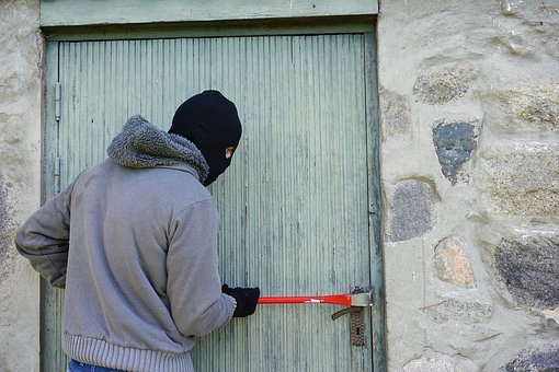 Thief, Burglary, Break Into, Balaclava