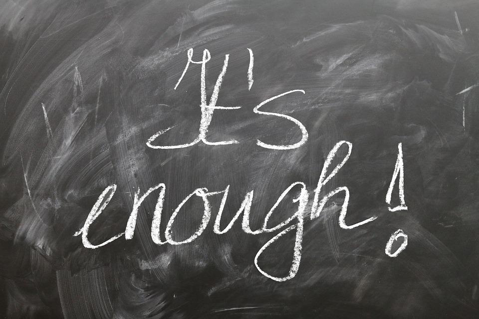 enough(イナフ)の意味と類義語・例文 用例7つ