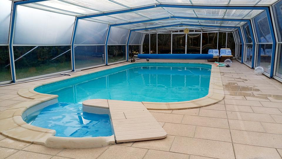 Swimming Pool Shelter Water - Free photo on Pixabay