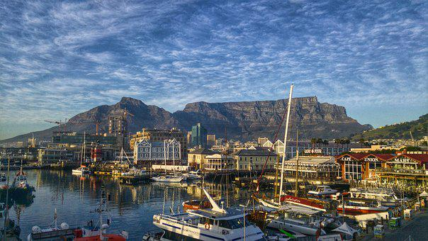 开普敦, Table Mountain, Waterfront