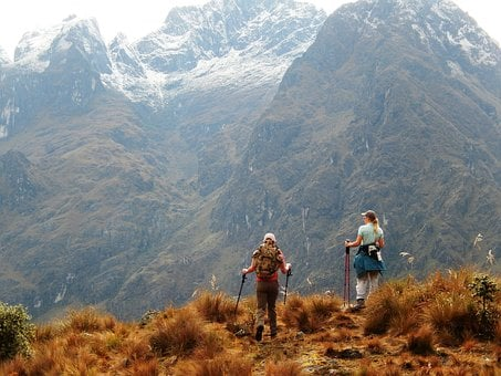 Trekking en montañas de Perú, Trekking en montañas peruanas, Camino Inca, expedición, escalada, montañismo, viajes de aventura