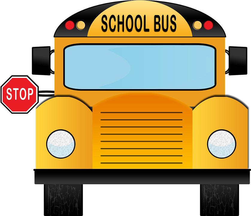 back to school bus clipart - photo #18