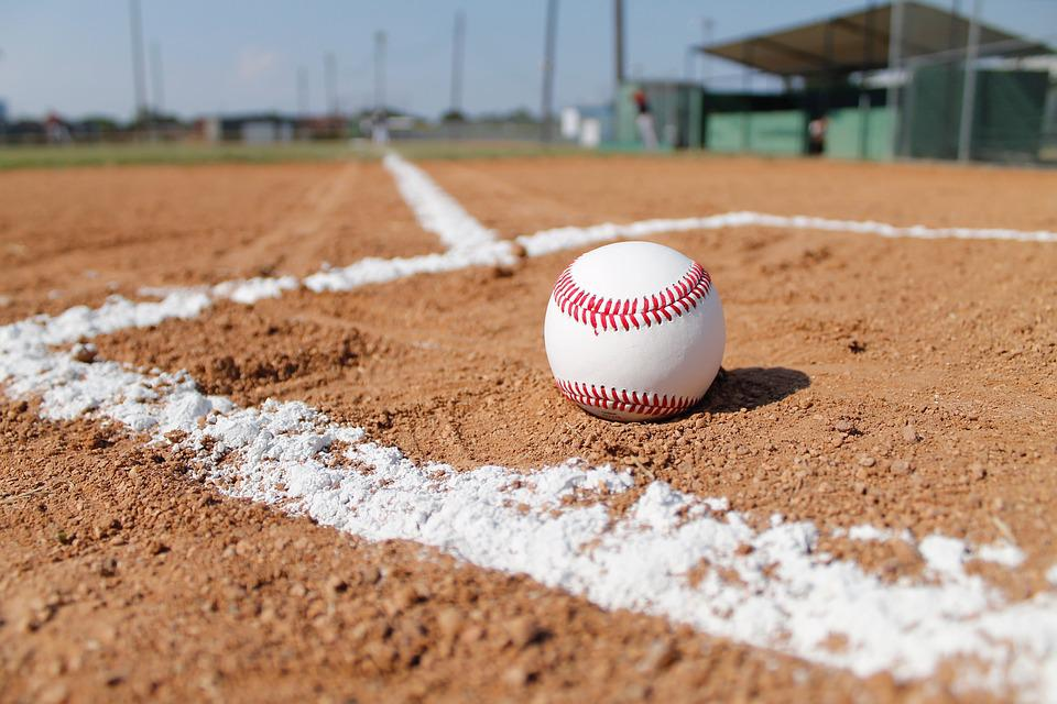 Baseball Field, Baseball, Gravel