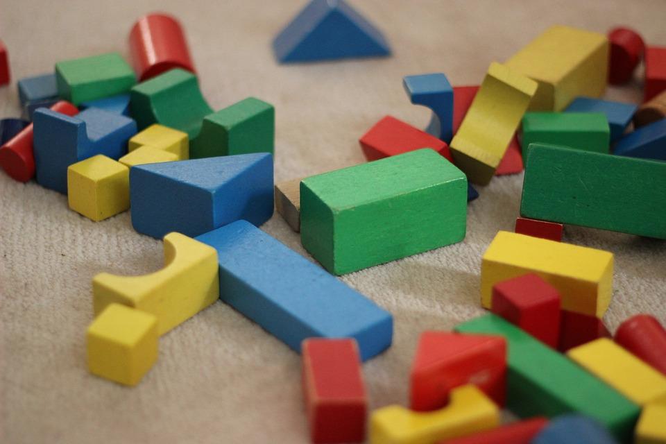 Building Blocks, Stones, Colorful, Toys, Child