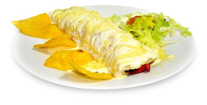 Burrito Gratin Nachos Gratin Food Mexican