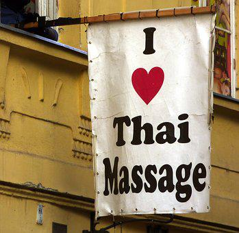 Ad, Massage, Tourists, Heart, Thai
