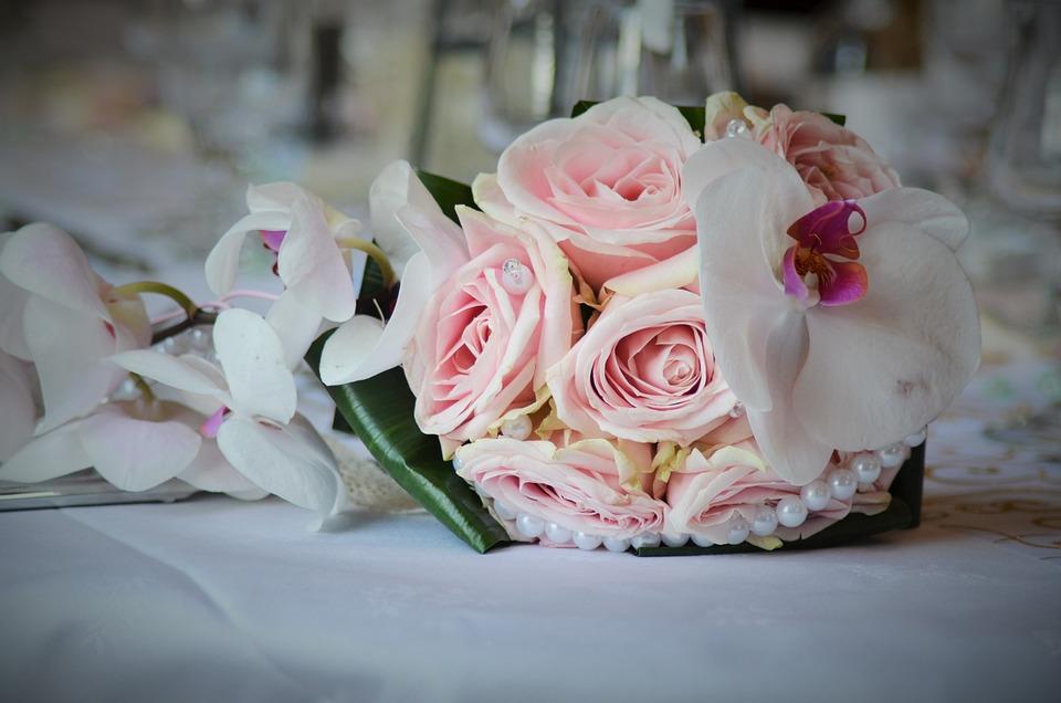 Blumenstrauss Hochzeit Kostenloses Foto Auf Pixabay