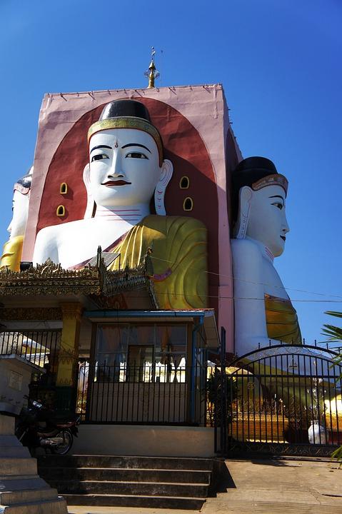 Buddha Myanmar Gold \u00b7 Free photo on Pixabay