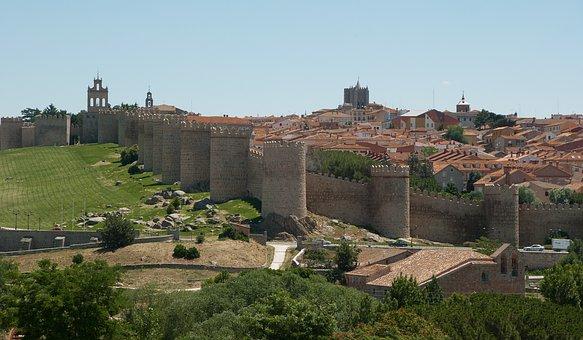 Panorámica Ciudad Amurallada Ávila