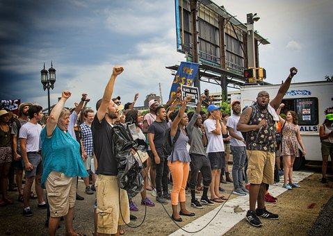 Protest Blm Black Lives Matter Sign Penn S
