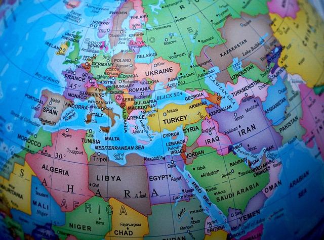 Free Photo Globe World Map Maps Europe Free Image On - Map of egypt on the globe