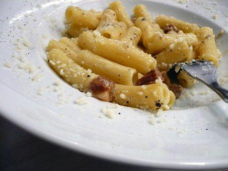 Pasta, Rome, Dinner, Italy, Italian