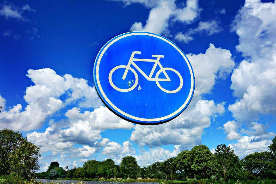 Traffic Sign, Bicycle, Symbol, Sign, Direction